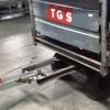 Bagaj Taşıma Traktörü İşçiye Çarptı