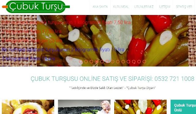 cubuk tursusu ve cubuk tursulari online satis siparis sitesi