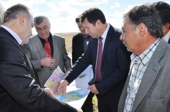 Ankara'da Arazi Toplulaştırma Çalışması