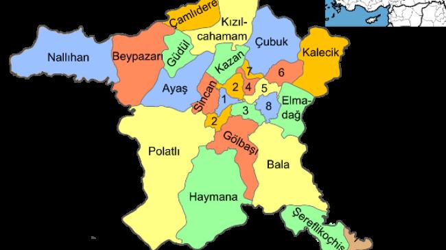 Ankara'nın Kaç İlçesi Var?