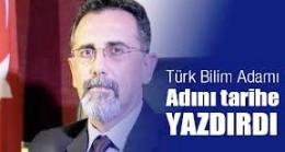 Türk Bilim Adamı Adını Dünya Bilim Literatürüne Yazdırdı