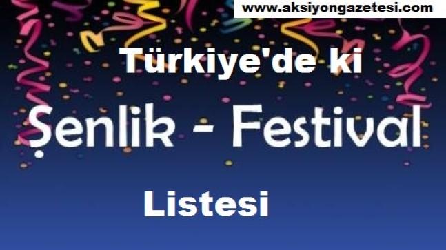 Türkiye Kültür Sanat Fuar, Şenlik, Festival
