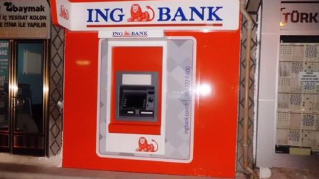 İng Bank Çubuk'a Atm Açtı