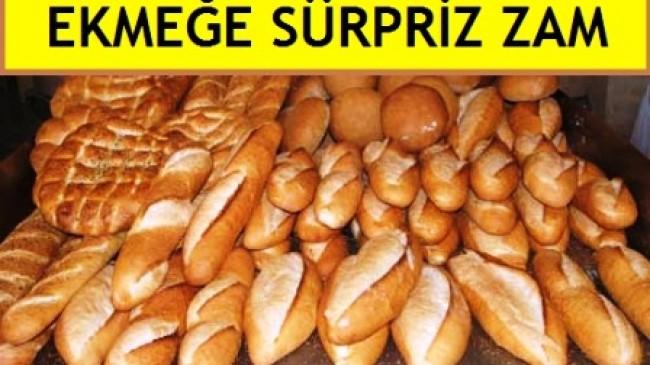 Çubuk'ta Ekmeğe Sürpriz Zam