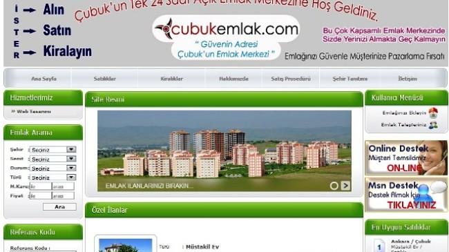 Ankara Çubuk Emlak Sitesi Hizmete Açıldı
