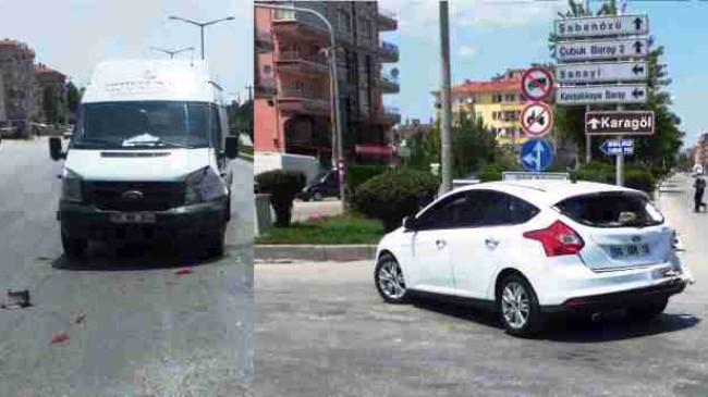 Çubuk'ta Trafik Kazası
