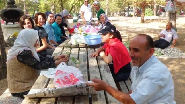 Bayramın Son Günü Vatandaşların Piknik Keyfi