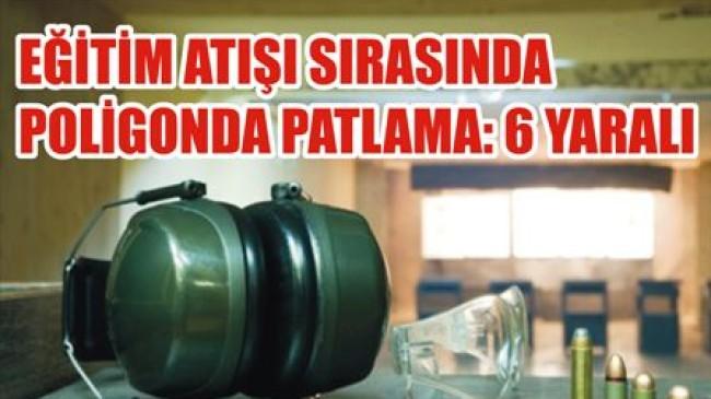 Atış Poligonunda Gaz Sıkıştı: 6 Yaralı