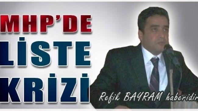 Eski Başkan Kriz MHP de Yarattı