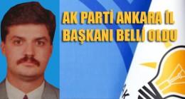 Nedim Yamalı Ak Parti Ankara'nın Yeni İl Başkanı