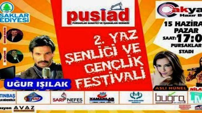 2. Yaz Şenliği ve Gençlik Festivali Pursaklar da Yapılacak