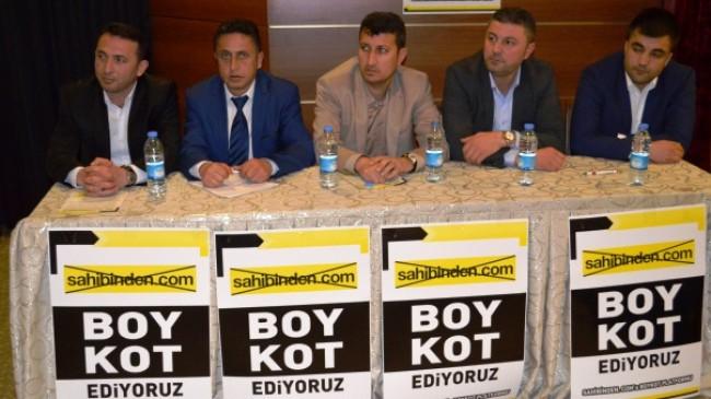 Emlakçı ve Müteahhitleri Boykotta