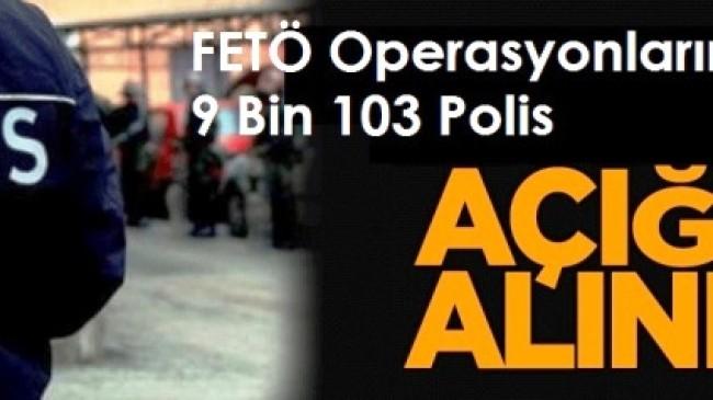 Ankara'da 1350 Polis Açığa Alındı