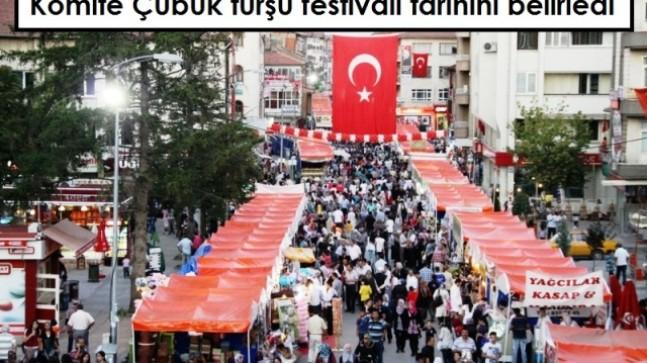 Komite Çubuk turşu festivali tarihini belirledi