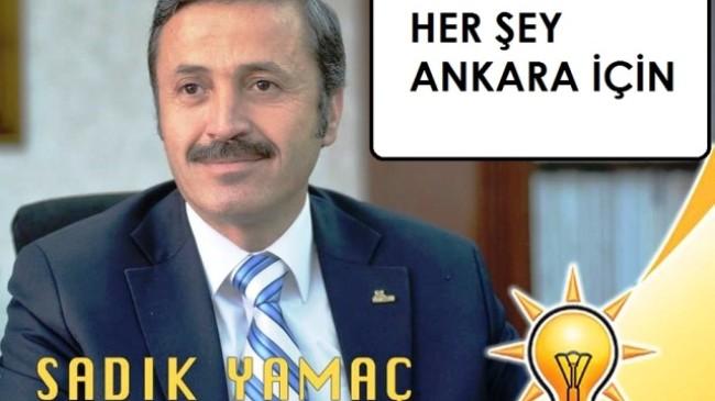 Sadık Yamaç, Ankara'yı en iyi şekilde temsil etmek için aday adayı