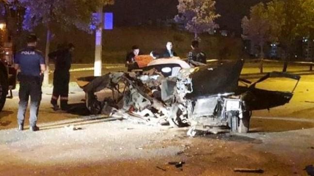 Dur ihtarına uymadı 2 can gitti, şoför ağır yaralı