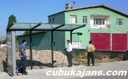 Çubuk'a Modern Otobüs Durakları